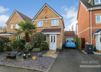 Thumbnail 3 bed detached house for sale in Sandywarps, Irlam