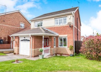 Thumbnail 3 bed detached house for sale in Oakwood Close, Hartlepool
