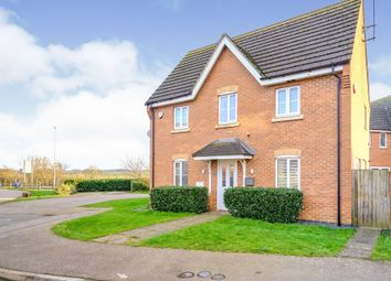 Thumbnail 3 bed link-detached house for sale in Gladiator Close, Wootton, Northampton