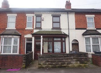 Thumbnail 3 bed terraced house for sale in Wyrley Road, Aston, Birmingham.