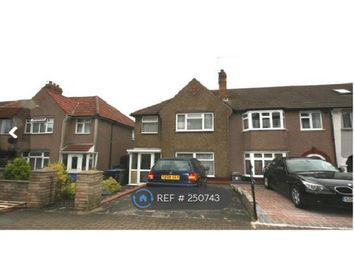 Thumbnail 3 bed end terrace house to rent in Coles Green Road, London