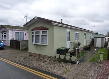 Thumbnail 2 bed mobile/park home for sale in The Poplars, Woodbine Park, Waltham Abbey
