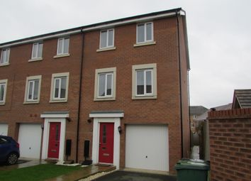 Thumbnail 4 bed town house for sale in Lares Avenue, Peterborough