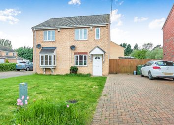 Thumbnail 2 bed semi-detached house for sale in Birdbeck Drive, Outwell, Wisbech