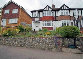 Thumbnail 3 bed semi-detached house for sale in Old Lodge Lane, Purley