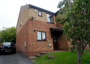 Thumbnail 2 bedroom semi-detached house to rent in Solway Close, Oakwood, Derby