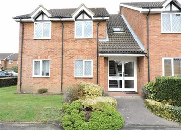 Thumbnail 1 bed flat for sale in Wakefield Close, Byfleet, Surrey