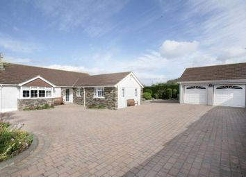 Thumbnail 6 bed detached bungalow for sale in Church Road, Wembury, Plymouth