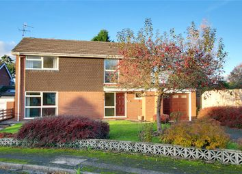 Thumbnail 4 bed detached house for sale in Manor Close, Droitwich, Worcestershire