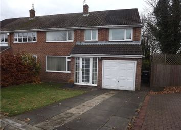 Thumbnail 4 bed semi-detached house to rent in Cambridgeshire Drive, Belmont, Durham