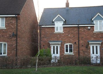 Thumbnail 2 bed semi-detached house for sale in Flitt Leys Close, Cranfield, Bedford