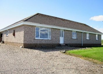 Thumbnail 4 bed detached bungalow for sale in Murkle, Thurso