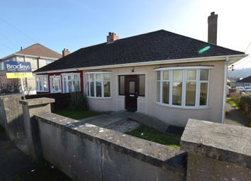 Thumbnail 2 bed bungalow to rent in Quarry Park Road, Plymstock, Plymouth, Devon