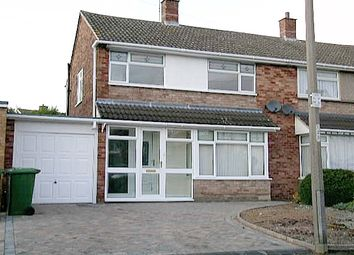 Thumbnail 3 bed semi-detached house to rent in Mildenhall, Tamworth, Staffordshire