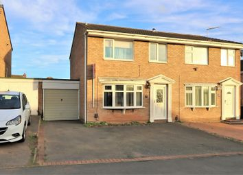 Thumbnail 3 bedroom semi-detached house for sale in Canterbury Drive, Ashby-De-La-Zouch