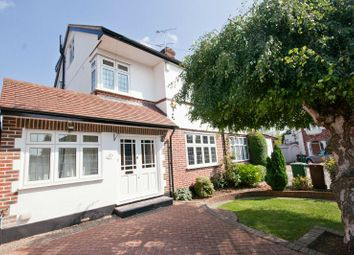 Thumbnail 4 bed semi-detached house for sale in Trevone Gardens, Pinner, Middlesex
