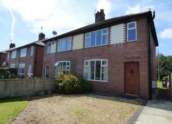 Thumbnail 3 bed semi-detached house for sale in Newfield Street, Sandbach, Cheshire