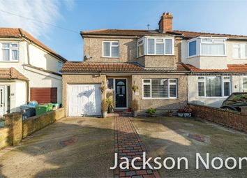 Thumbnail 4 bedroom semi-detached house for sale in Selbourne Avenue, Tolworth, Surbiton