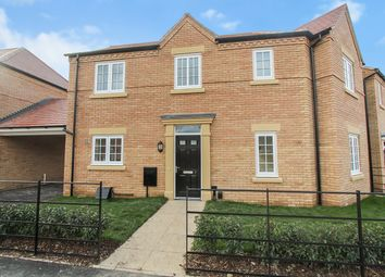Thumbnail 3 bed semi-detached house for sale in Greenlakes Rise, Houghton Conquest, Bedford