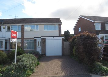 Thumbnail 3 bed semi-detached house for sale in Lowlands Avenue, Streetly, Sutton Coldfield