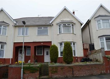 Thumbnail 4 bedroom semi-detached house for sale in Long Oaks Avenue, Swansea