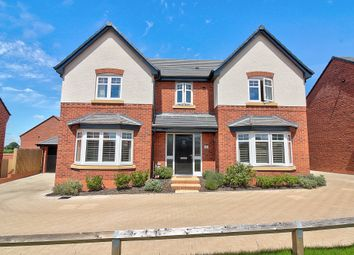 Thumbnail 4 bed detached house for sale in Woodlark Way, Streethay, Lichfield