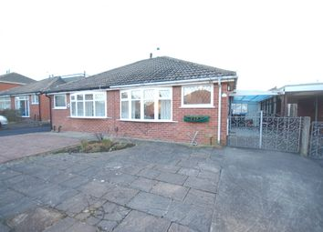 Thumbnail 2 bed semi-detached bungalow for sale in West Side, Blackpool