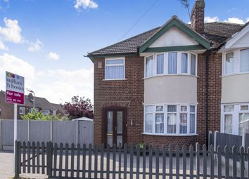 Thumbnail 3 bed semi-detached house for sale in Somerset Avenue, Stadium Estate, Leicester