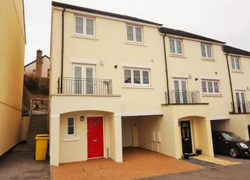 Thumbnail 4 bed town house for sale in Jago Close, Liskeard