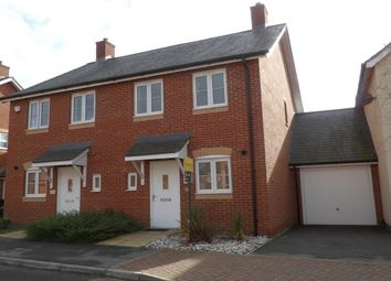 Thumbnail 2 bedroom semi-detached house to rent in Cutforth Way, Romsey