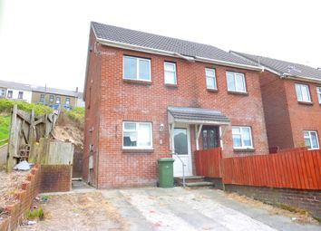 Thumbnail 3 bed end terrace house for sale in Stanley Street, Senghenydd, Caerphilly