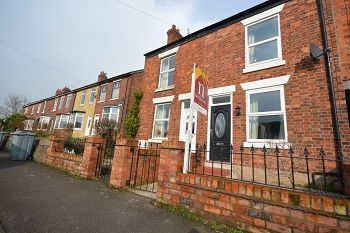 Thumbnail 2 bed terraced house to rent in Park Lane, Sandbach, Cheshire
