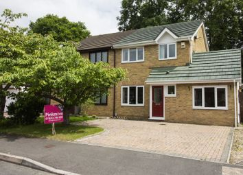 Thumbnail 3 bed semi-detached house for sale in Veronica Close, Rogerstone, Newport