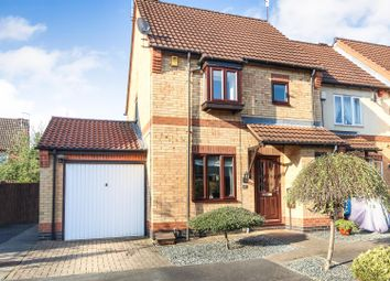Thumbnail 3 bedroom semi-detached house for sale in Leen Valley Way, Hucknall, Nottingham