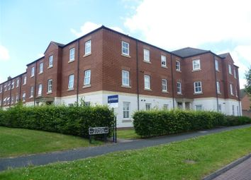 Thumbnail 2 bed flat to rent in Charles House, Deykin Road, Lichfield, Staffordshire