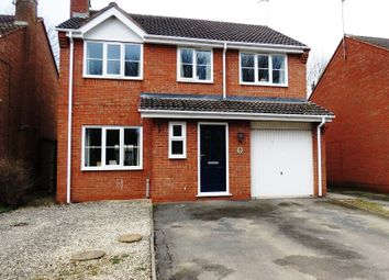 Thumbnail 4 bed detached house for sale in Foxglove Avenue, Uttoxeter