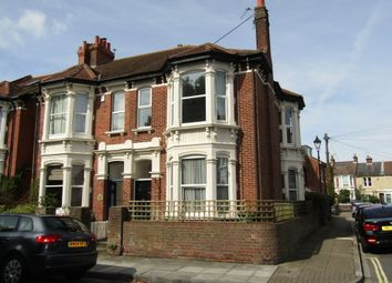 Thumbnail 4 bed flat to rent in Shirley Road, Southsea