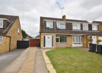 Thumbnail 3 bedroom semi-detached house to rent in Edgewood Drive, Luton