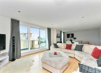 Thumbnail 3 bed penthouse to rent in Lombard Road, Battersea Square