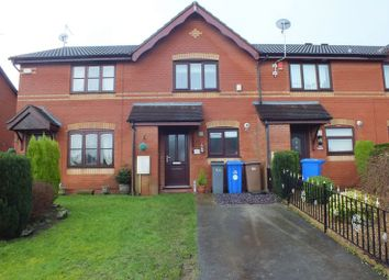 Thumbnail 2 bed mews house for sale in Mill View, Ball Green, Stoke-On-Trent