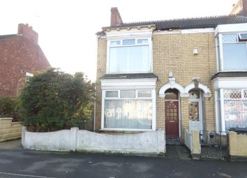 Thumbnail 3 bed end terrace house for sale in Spring Bank West, Hull