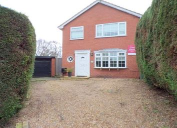 Thumbnail 4 bed detached house to rent in Buerton Close, Prenton