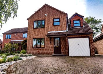 Thumbnail 4 bed detached house for sale in Plumpton Gardens, Doncaster, South Yorkshire