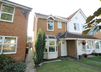 Thumbnail 2 bed end terrace house for sale in Radford Close, Atherstone
