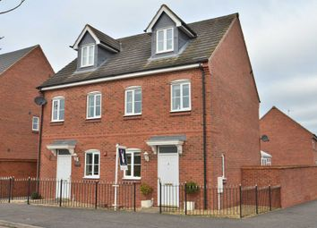 Thumbnail 4 bedroom semi-detached house for sale in The Meadows, Old Stratford, Milton Keynes