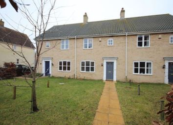 Thumbnail 3 bed terraced house for sale in Ryefield Road, Mulbarton, Norwich