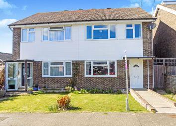 Thumbnail 3 bed semi-detached house for sale in Bramble Drive, Hailsham
