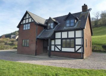 Thumbnail 3 bedroom detached house to rent in Tremayne, Meifod, Powys