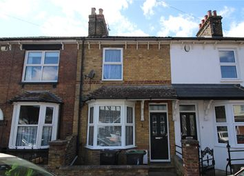 Thumbnail 3 bed terraced house to rent in Waghorn Road, Snodland, Kent