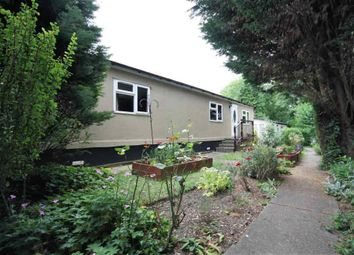 Thumbnail 1 bed mobile/park home for sale in Roof Of The World Caravan Park, Boxhill Road, Tadworth